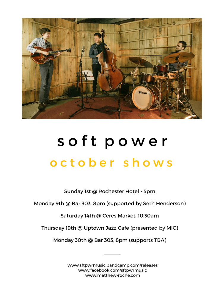 Soft Power october shows