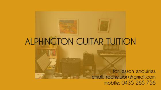Alphington guitar tuition final
